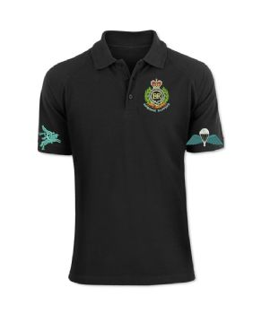 Airborne Sappers Embroidered Polo Shirt